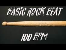 Embedded thumbnail for Basic rock beat free 100 bpm