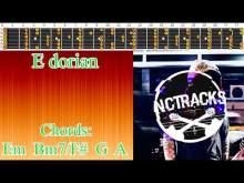 Embedded thumbnail for Emotional Melancholic Pop Rock Ballad Guitar Backing Track - E Dorian | 110 bpm