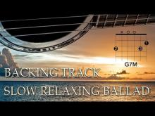 Embedded thumbnail for Slow Relaxing Ballad Backing Track (G Major)