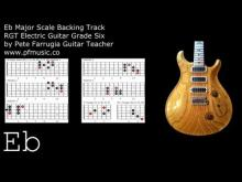 Embedded thumbnail for Guitar Backing Track Eb Major Scale - Grade Six