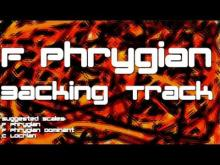Embedded thumbnail for F Phrygian Backing Track: Thrash Metal, Industrial, Megadeth Style, Solo Trading