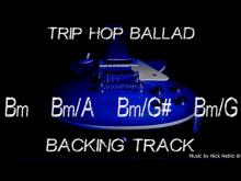 Embedded thumbnail for Trip Hop Guitar Ballad Backing Track B minor