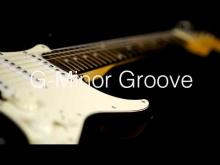 Embedded thumbnail for G-Minor Shuffle Groove Guitar Backing Track