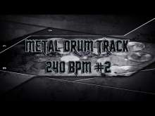 Embedded thumbnail for Brutal Death Metal Drum Track 240 BPM | Preset 2.0 (HQ,HD)