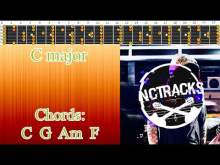 Embedded thumbnail for Happy Cheerful Piano Ballad Style Backing Track - C Major  | 70 bpm