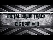 Embedded thumbnail for Simple Straight Metal Drum Track 135 BPM (HQ,HD)