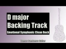 Embedded thumbnail for Backing Track in D Major Emotional Pop Rock with Chords and D Major Pentatonic Scale