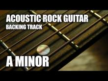 Embedded thumbnail for Acoustic Rock Guitar Backing Track In A Minor / C Major