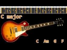 Embedded thumbnail for Cool Rock Ballad Guitar Backing Track- C major   110bpm