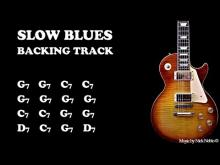 Embedded thumbnail for Slow Classic Blues Backing Track Jam in G