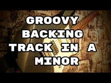 Embedded thumbnail for Groovy Backing Track in A Minor