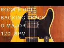 Embedded thumbnail for Rock & Roll Guitar Backing Track (The Rolling Stones Style)   D Major (120 Bpm)