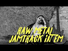 Embedded thumbnail for Raw Metal Jamtrack in Em