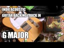 Embedded thumbnail for Indie Acoustic Guitar Backing Track In G Major / E Minor