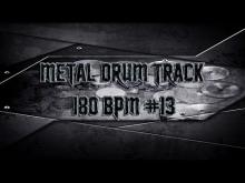 Embedded thumbnail for Simple Straight Metal Drum Track 180 BPM | Preset 2.0 (HQ,HD)