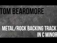Embedded thumbnail for Metal / Rock Guitar Backing Track in C - Rock / Metal