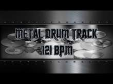 Embedded thumbnail for Groovy Metal Drum Track 121 BPM | Preset 3.0 (HQ,HD)