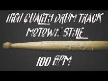 Embedded thumbnail for High quality drum track - Motown style