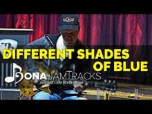 "Embedded thumbnail for Bona Jam Tracks - ""Different Shades of Blue"" Official Joe Bonamassa Guitar Backing Track in A Minor"