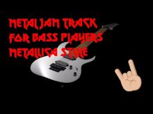 Embedded thumbnail for Metal jam track Metallica style no bass