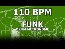 Embedded thumbnail for Funk | Drum Metronome Loop | 110 BPM