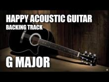 Embedded thumbnail for Happy Acoustic Guitar Backing Track In G Major / E Minor
