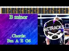 Embedded thumbnail for Emotional Intense Rock Ballad Style Guitar Backing Track - B Minor | 90 bpm