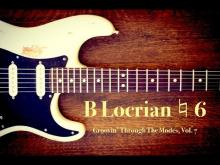 Embedded thumbnail for B Locrian Natural 6 Backing Track