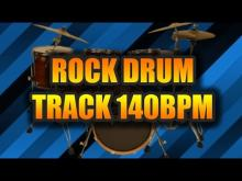 Embedded thumbnail for 140 BPM - Simple Drum Track - Drum Loops - Rock Drum Track de Drum Loops and Backing Tracks