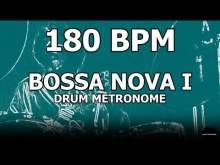 Embedded thumbnail for Bossa Nova I | Drum Metronome Loop | 180 BPM