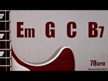 Embedded thumbnail for Slow Rock Emotional Ballad Guitar Backing Track E minor Jam