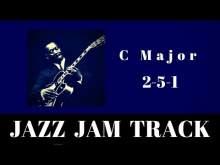 Embedded thumbnail for 2-5-1 Jazz Practice Backing Jam Track // C Major (Medium Swing)