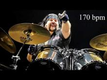 Embedded thumbnail for Vinnie Paul Pantera Style Heavy Metal Drum Backing Track | 170 bpm