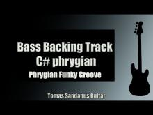 Embedded thumbnail for Bass Backing Track in C# phrygian | Funk Rock Groove