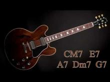 Embedded thumbnail for All of Me Swing Jazz Standard Style Guitar Backing Track - CM7  | 140 bpm