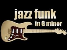 Embedded thumbnail for Gm Jazz Funk Backing Track & Guitar Jam
