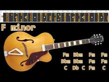 Embedded thumbnail for Gary Moore Blues Ballad Guitar Backing Track - F minor | 70bpm