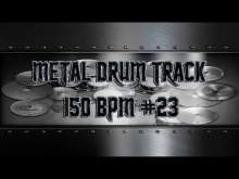 Embedded thumbnail for Simple Straight Metal Drum Track 150 BPM | Preset 3.0 (HQ,HD)