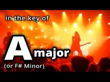 Embedded thumbnail for SLOW METAL in A Major ★ Metal BACKING TRACK ★ A maj JAM TRACK!