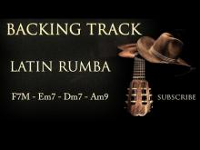 Embedded thumbnail for Backing Track Flamenco Spanish Rumba F - Em - Dm - Am