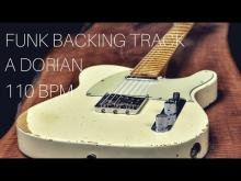 Embedded thumbnail for Funk Guitar Backing Track | A Dorian (110 bpm)