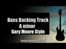 Embedded thumbnail for Bass Backing Track A minor - Gary Moore Style Rock Power Ballad - NO BASS - Chords - Scale - BPM