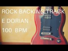 Embedded thumbnail for Rock Guitar Backing Track | E Dorian (100 Bpm)