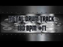 Embedded thumbnail for In Your Face Metal Drum Track 180 BPM | Preset 3.0 (HQ,HD)
