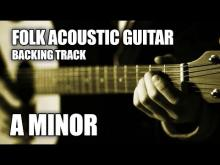 Embedded thumbnail for Folk Acoustic Guitar Backing Track In A Minor