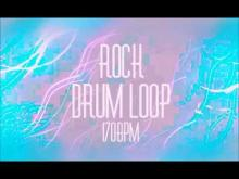Embedded thumbnail for ROCK/POP Drum Loop (170 BPM)