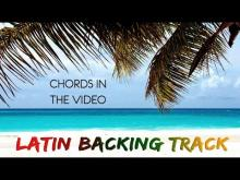 Embedded thumbnail for Latin Acoustic Backing Track Rumba Reggae A minor
