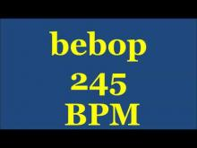 Embedded thumbnail for Drum Loops for Practice Bebop 245bpm