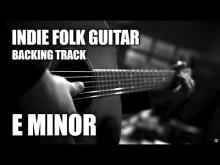 Embedded thumbnail for Indie Folk Guitar Backing Track In E Minor
