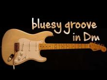 Embedded thumbnail for bluesy groove backing track in Dm